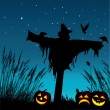 Halloween Background — Imagen vectorial