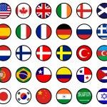 World flags — Stock Vector #7229844