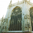 Antique gothic cathedral - Stockfoto