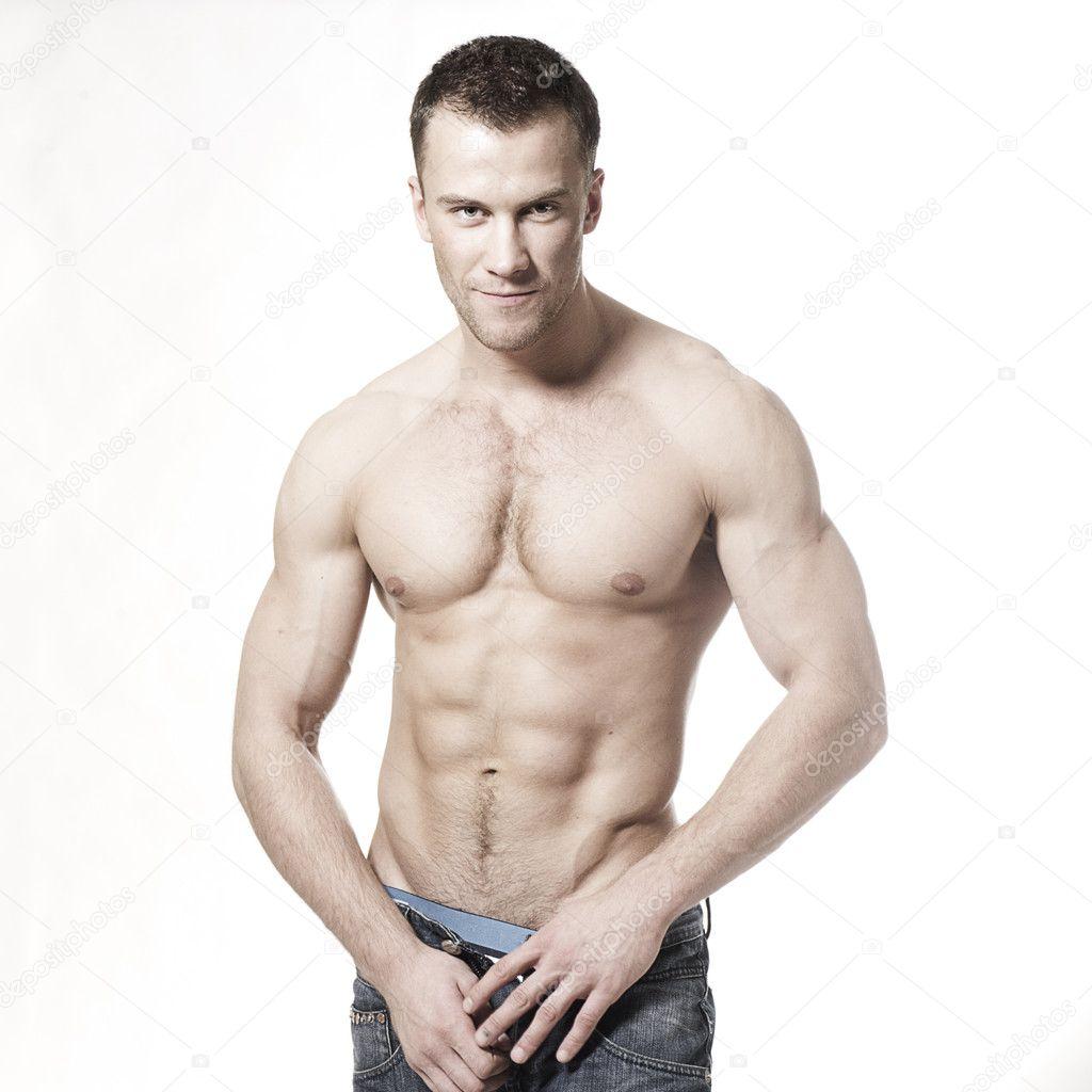 Сексуальный и мускулистый мачо 4 фотография