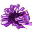 Stock Photo: Purple bow