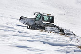 Snowcat clouseup — Stock Photo