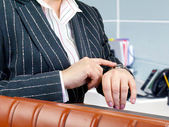 Businesswoman ready for meeting. — Stock Photo