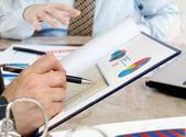 Analysing data . — Stock Photo