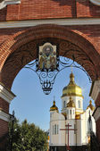 Zaporozhye, church of Santa Nikolas — ストック写真