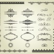 Royalty-Free Stock Imagen vectorial: Set of design elements.