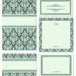 Royalty-Free Stock Vectorielle: Set of beauty frames.