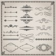 Royalty-Free Stock Vectorielle: Set of design elements.