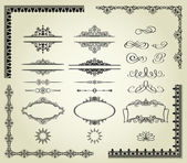 Set of design elements. — Stock Vector