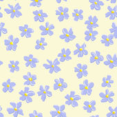 Floral seamless background — Vector de stock