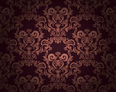 Damask repeating background — Stock Vector