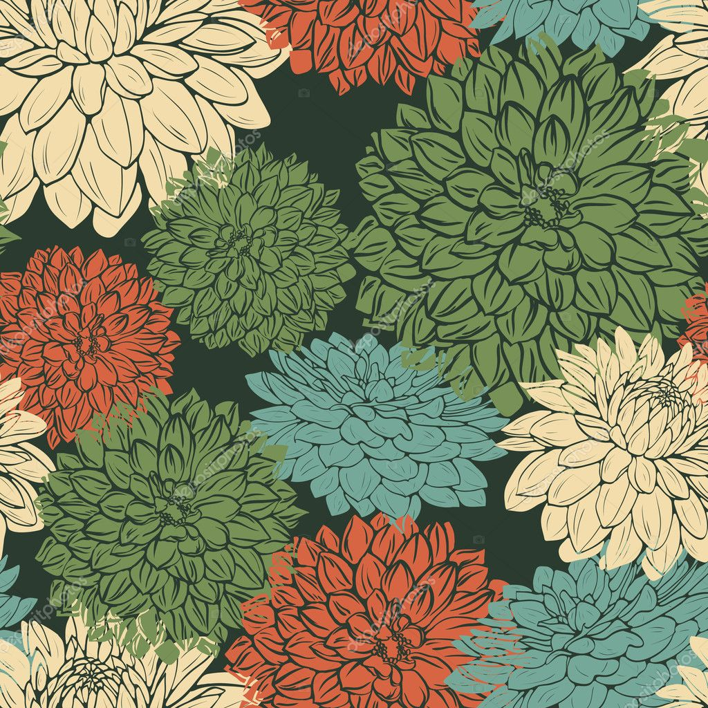 vintage repeating wallpaper - photo #31