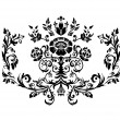 Damask ornament. — Stock Vector