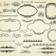 Royalty-Free Stock Imagen vectorial: Set of design elements