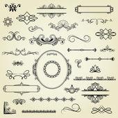 Tasarım öğeleri — Stok Vektör