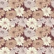Floral seamless background — Stock Vector #7585945