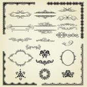 组的设计元素 — 图库矢量图片