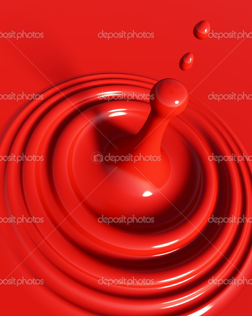 3d Illustration of Blood Background or Donation Concept — Stock Photo #6864850
