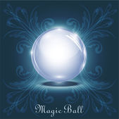 Vector magic ball — Stock Vector