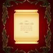 Vintage, elegant, luxurious background — Stock vektor #7024283