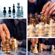 Stock Photo: Chess collage