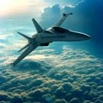 Fighter jet — Stock Photo