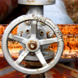 Stock Photo: Rusty valve