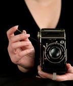 Vinatge Kamera — Stockfoto