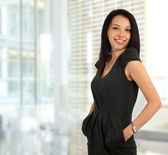 Jeune femme d'affaires — Photo
