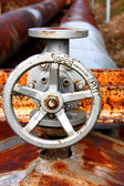 Rusty valve — Stock Photo