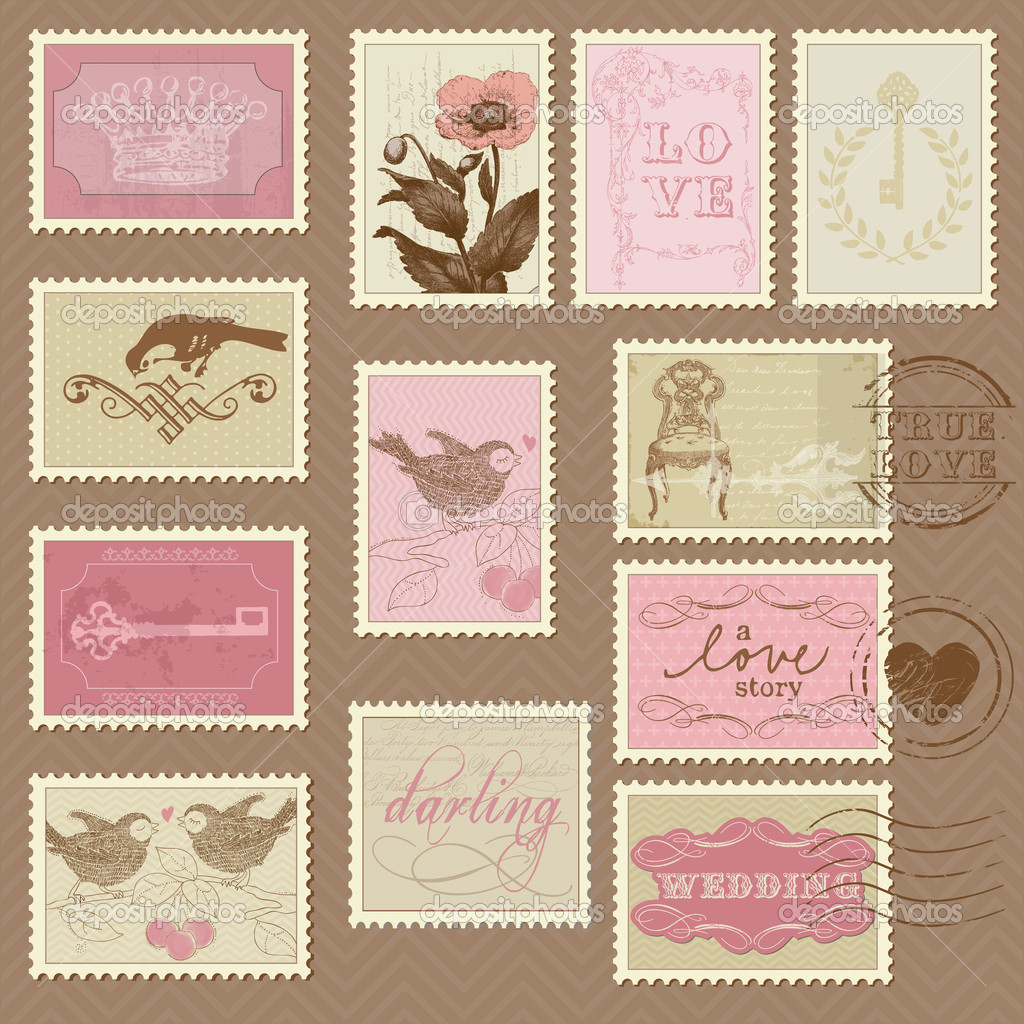 Wedding Invitation Postage Stamps is amazing invitations sample