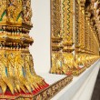 Thai temple pillars. — ストック写真