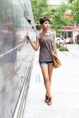 Portrait asian girl — Stock Photo