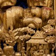 Stock Photo: Wood carvings.