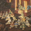 Thai Ramayanpainting. — Stock Photo #7411825