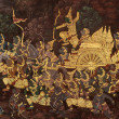 Thai Ramayana painting. — Stock Photo