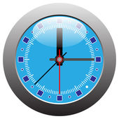 Clock vector — Stockvektor