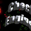 Change oil service engine light tune up — Stock Photo #7932163