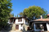 De weergave van huizen in aitos, bulgarije — Stockfoto