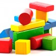 Wooden building blocks — Stock Photo #7538682