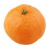 Tangerine isolated on white — Stock Photo