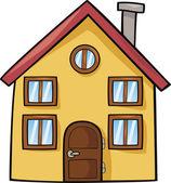Cartoon house — Stock Vector