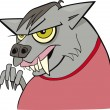 Royalty-Free Stock Vector Image: Cartoon werewolf