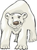 Polar bear — Vector de stock