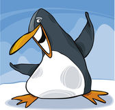 Happy penguin — Wektor stockowy