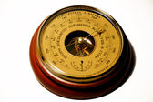 Aneroid barometer — Stock Photo