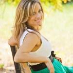 Beautiful woman outdoor — Stock Photo #6803584