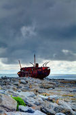 Plassey Wreck — Stock Photo
