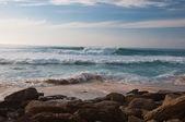 Beach in October — Stock Photo