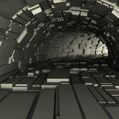 3d render of a tunnel — Stock Photo